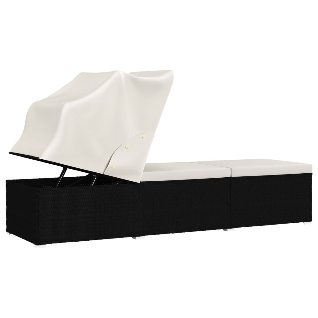 Picture of Outdoor Lounger - Cream White