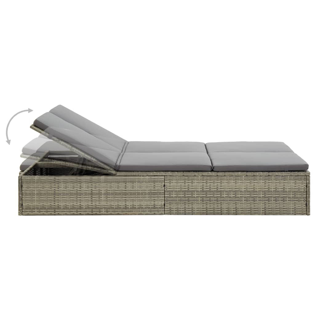 Picture of Outdoor Convertible SunBed - Gray