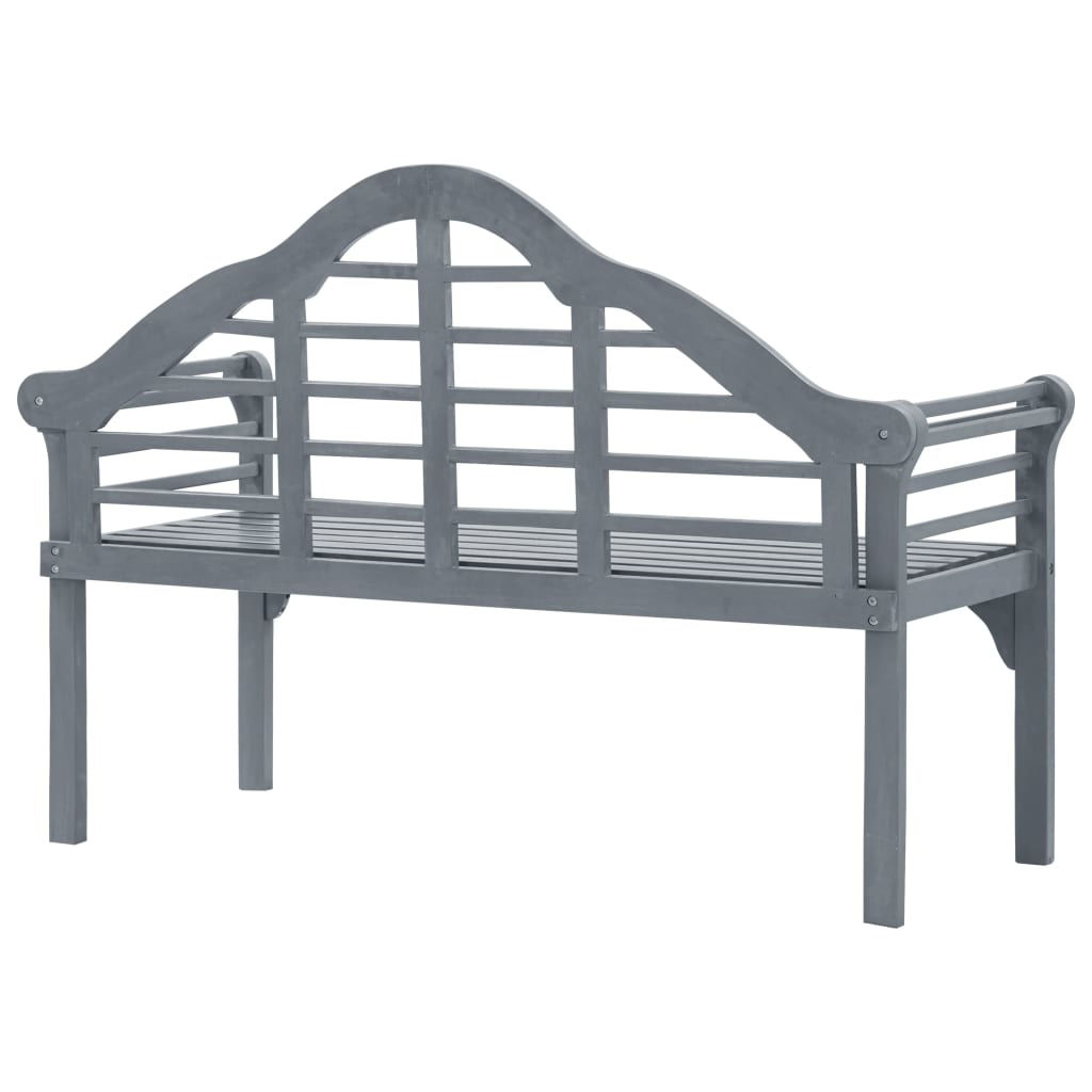 "Picture of Outdoor Bench 53"" Gray"