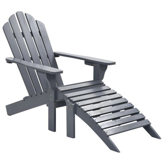 Picture of Outdoor Desk Chair - Gray