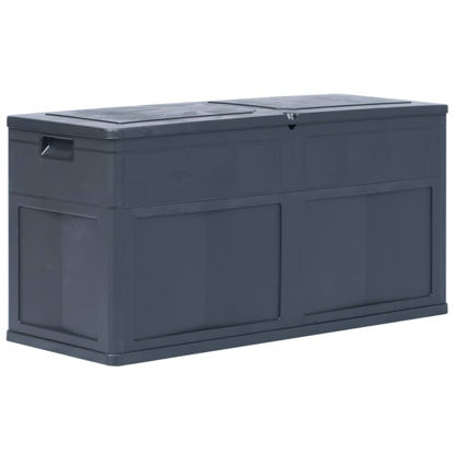 Picture of Outdoor Garden Storage Box 84.5 gal - Black