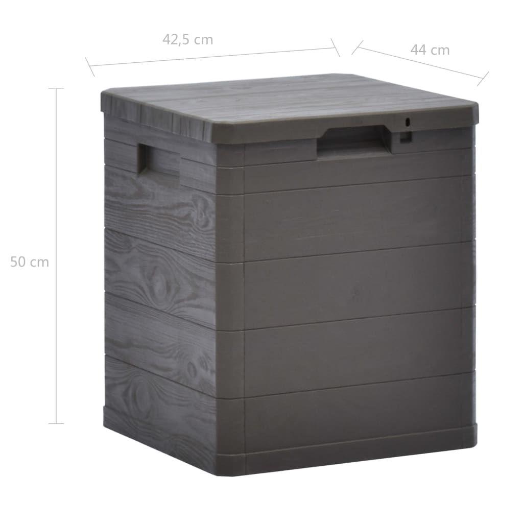 Picture of Outdoor Garden Storage Box 23.8 gal - Brown