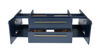 """Picture of Lucera 48"""" Royal Blue Wall Hung Vessel Sink Modern Bathroom Cabinet"""