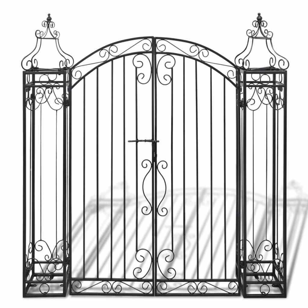 Picture of Outdoor Iron Driveway Entry Gate