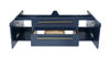 """Picture of Lucera 48"""" Royal Blue Wall Hung Modern Bathroom Cabinet w/ Top & Undermount Sink"""