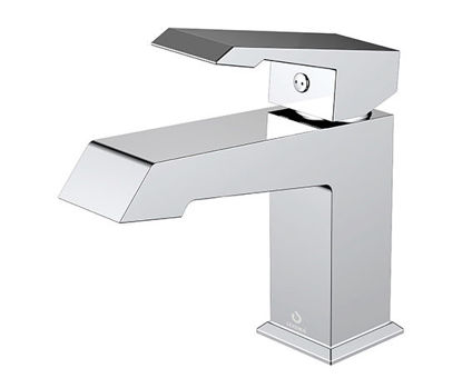 Picture of Single Hole Bathroom Faucet - Chrome