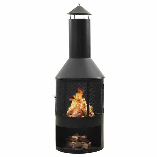 Picture of Outdoor Patio Steel Stove