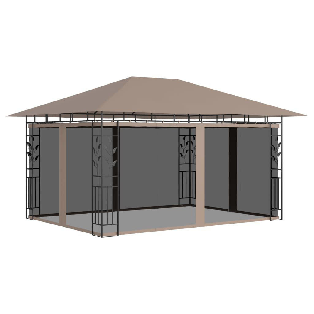 """Picture of Outdoor Gazebo with Mosquito Net 13"""" x 10"""""""