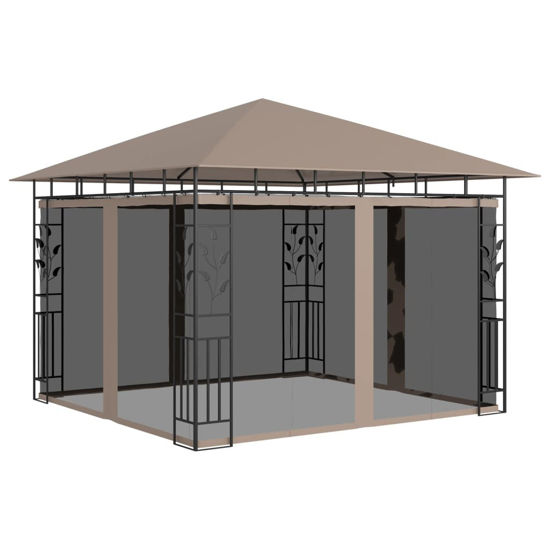 Picture of Outdoor Gazebo with Mosquito Net 10' x 10'