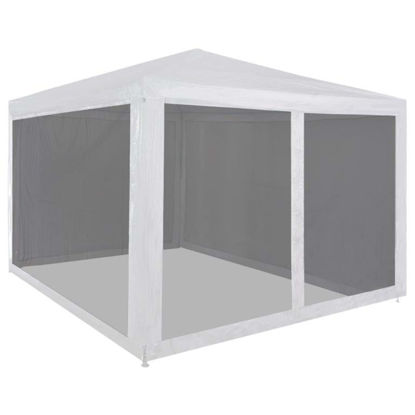 Picture of Outdoor Tent with Mesh Walls 10' x 10'