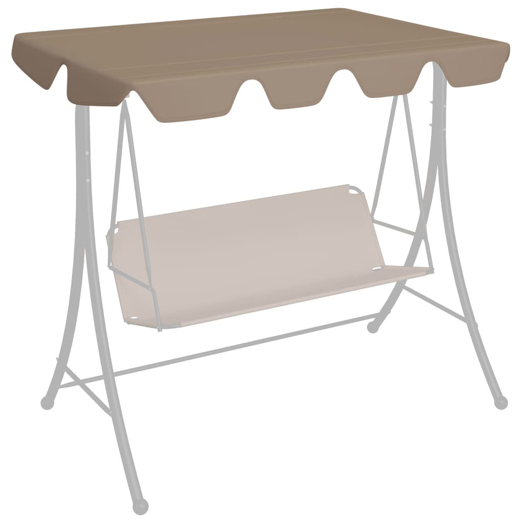 Picture of Outdoor Swing Top Replacement - Taupe