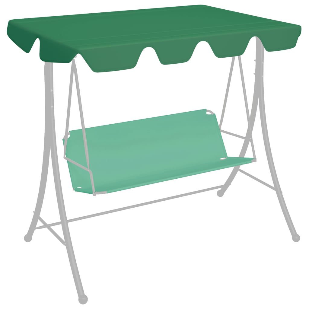 Picture of Outdoor Swing Top Replacement - Green