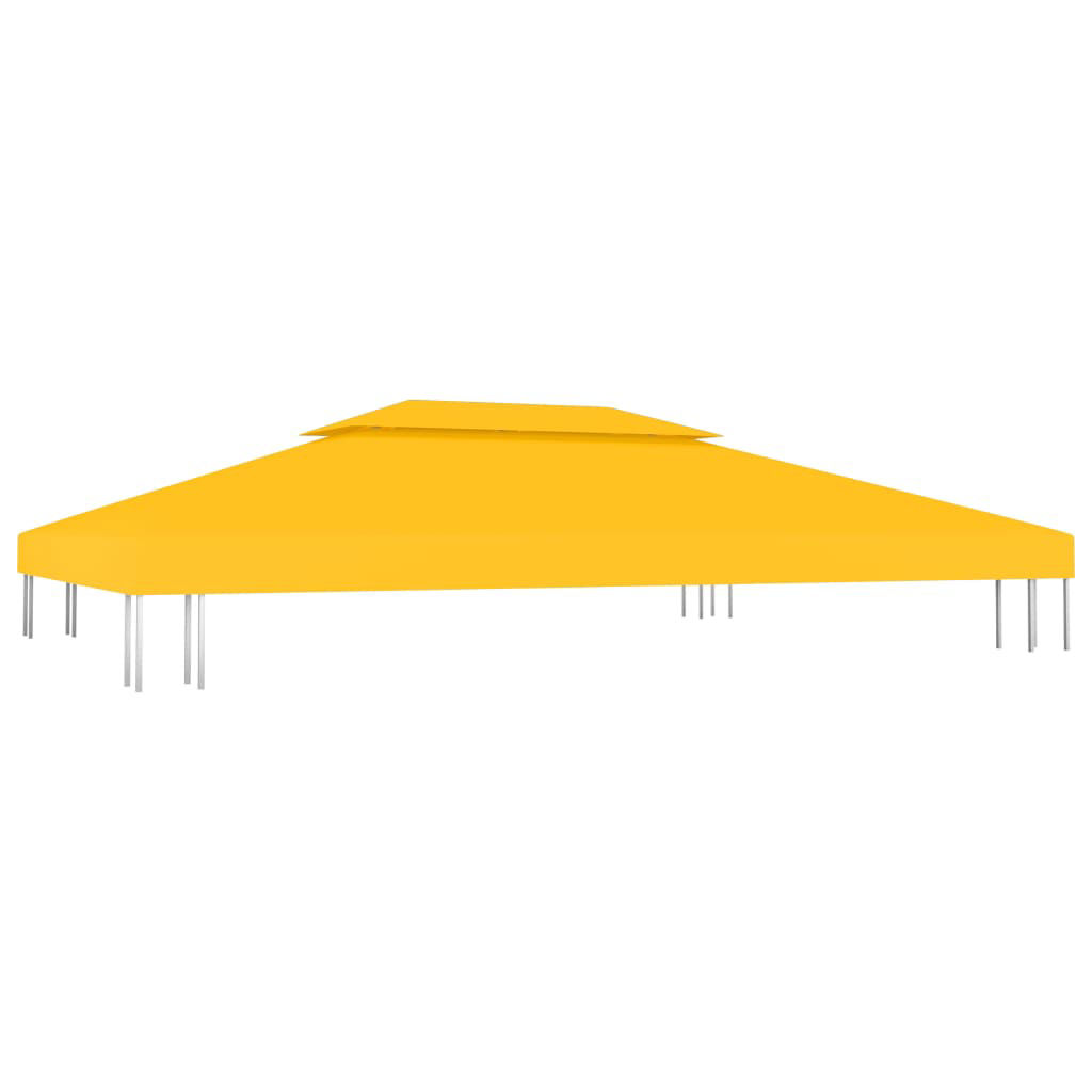 Picture of Outdoor 13' x 10' Top Replacement Tent Gazebo 2-Tier - Yellow
