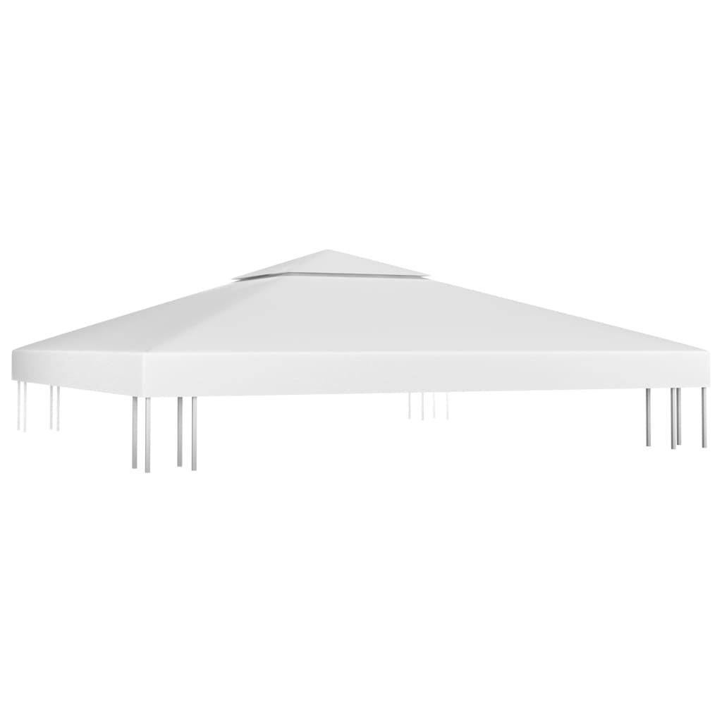 Picture of Outdoor 10' x 10' Top Replacement Tent Gazebo 2-Tier - White