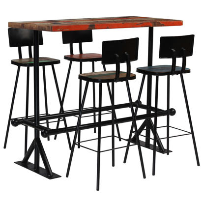Picture of Wooden Bar Set - 5 pc