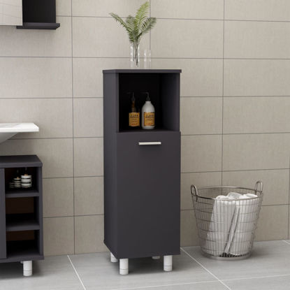 """Picture of 11"""" Bathroom Cabinet - Gray"""