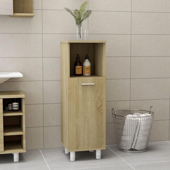 """Picture of 11"""" Bathroom Cabinet - Sonoma Oak"""