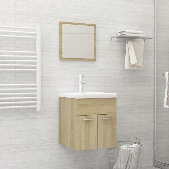 "Picture of 15"" Bathroom Furniture Set - Sonoma Oak"