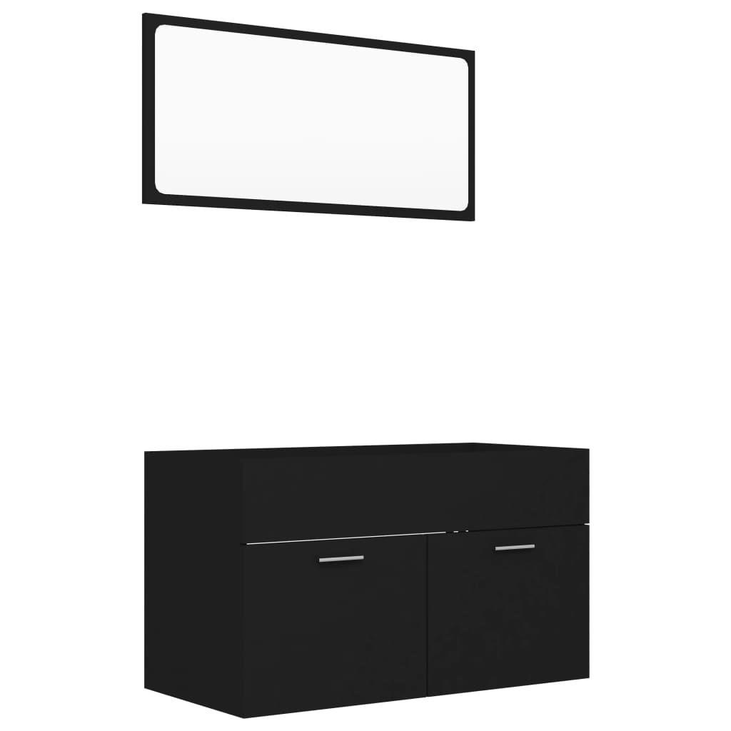 "Picture of 31"" Bathroom Furniture Set - Black"