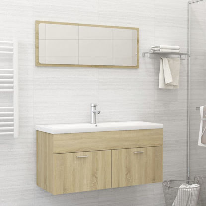 "Picture of 39"" Bathroom Furniture Set - Sonoma Oak"