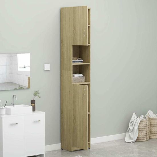 """Picture of 12"""" Bathroom Cabinet - Sonoma Oak"""