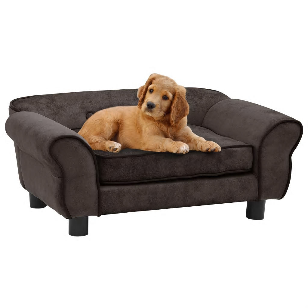 Picture of Dog Plush Sofa - Brown