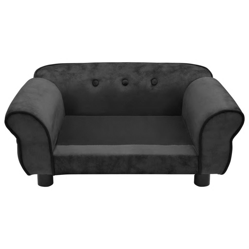 Picture of Dog Plush Sofa - Dark Gray