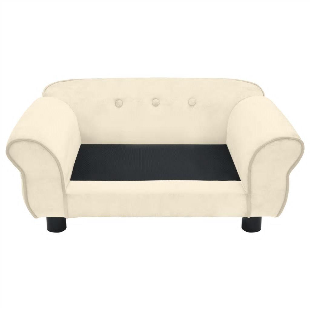 Picture of Dog Plush Sofa - Cream